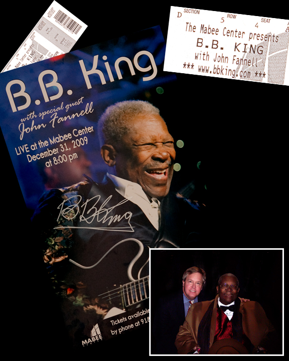 John Fannell Opens For BB King